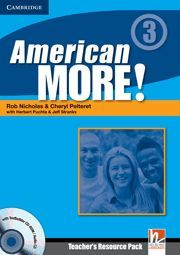 AMERICAN MORE! LEVEL 3 TEACHER´S RESOURCE PACK WITH TESTBUILDER CD-ROM/AUDIO CD