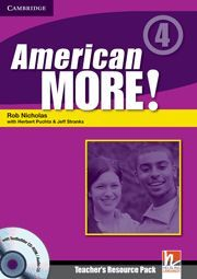 AMERICAN MORE! LEVEL 4 TEACHER´S RESOURCE PACK WITH TESTBUILDER CD-ROM/AUDIO CD