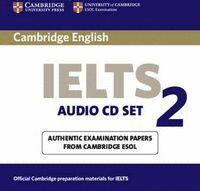 CAMBRIDGE IELTS 2 CASSETTE SET AUDIO CD SET (2)