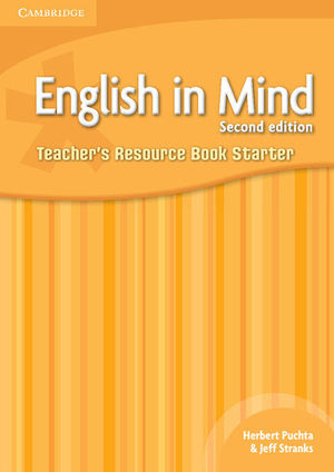 ENGLISH IN MIND STARTER LEVEL TEACHER'S RESOURCE BOOK 2ND EDITION