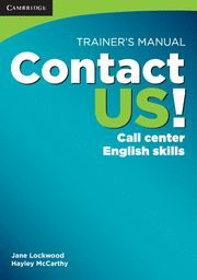 CONTACT US! TRAINER´S MANUAL
