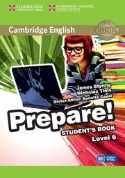 PREPARE! 6 STUDENT´S BOOK LEVEL 6