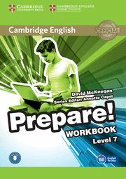 PREPARE! 7 WORKBOOK WITH ONLINE AUDIO