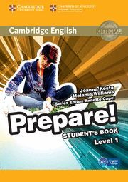 PREPARE! 1 STUDENT´S BOOK A1 ENGLISH PROFILE