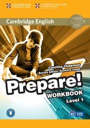 PREPARE! 1 WORKBOOK WITH AUDIO