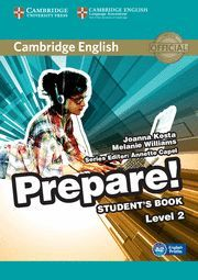 PREPARE! 2 STUDENT´S BOOK LEVEL 2
