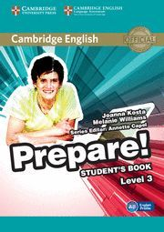 PREPARE! 3 STUDENT´S BOOK A2 ENGLISH PROFILE