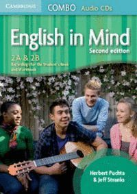 ENGLISH IN MIND LEVELS 2A AND 2B COMBO AUDIO CDS (3) 2ND EDITION