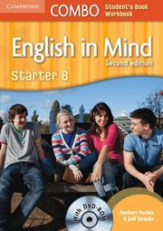 ENGLISH IN MIND STARTER COMBO B WITH DVD-ROM 2ND EDITION