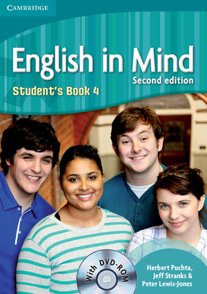 ENGLISH IN MIND LEVEL 4 STUDENT´S BOOK WITH DVD-ROM 2ND EDITION