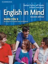 ENGLISH IN MIND LEVEL 5 AUDIO CDS (4) 2ND EDITION