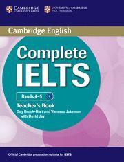 COMPLETE IELTS BANDS 4-5 TEACHER´S BOOK