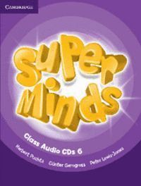 SUPER MINDS LEVEL 6 CLASS CDS (4)