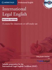 INTERNATIONAL LEGAL ENGLISH 2ª