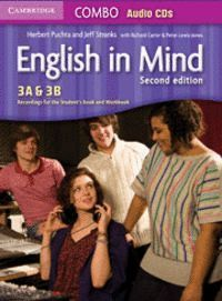 ENGLISH IN MIND LEVELS 3A AND 3B COMBO AUDIO CDS (3) 2ND EDITION
