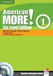AMERICAN MORE! SIX-LEVEL EDITION LEVEL 1 TEACHER´S RESOURCE BOOK WITH TESTBUILDER CD-ROM/AUDIO CD