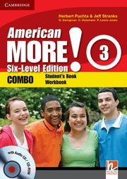 AMERICAN MORE! SIX-LEVEL EDITION LEVEL 3 COMBO WITH AUDIO CD/CD-ROM