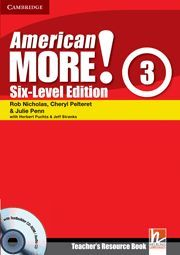 AMERICAN MORE! SIX-LEVEL EDITION LEVEL 3 TEACHER´S RESOURCE BOOK WITH TESTBUILDER CD-ROM/AUDIO CD