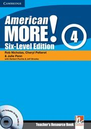 AMERICAN MORE! SIX-LEVEL EDITION LEVEL 4 TEACHER´S RESOURCE BOOK WITH TESTBUILDER CD-ROM/AUDIO CD