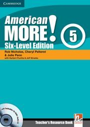 AMERICAN MORE! SIX-LEVEL EDITION LEVEL 5 TEACHER´S RESOURCE BOOK WITH TESTBUILDER CD-ROM/AUDIO CD