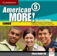 AMERICAN MORE! SIX-LEVEL EDITION LEVEL 5 CLASS AUDIO CD