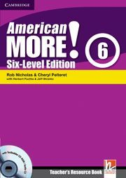 AMERICAN MORE! SIX-LEVEL EDITION LEVEL 6 TEACHER´S RESOURCE BOOK WITH TESTBUILDER CD-ROM/AUDIO CD