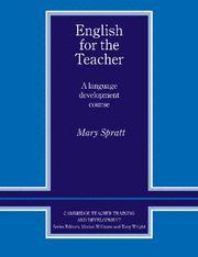 ENGLISH FOR THE TEACHER