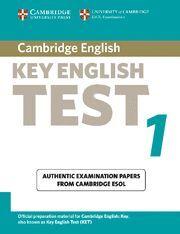 CAMBRIDGE KEY ENGLISH TEST 1 STUDENT´S BOOK 2ND EDITION