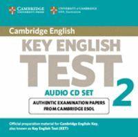 CAMBRIDGE KEY ENGLISH TEST 2 AUDIO CD SET (2 CDS) 2ND EDITION