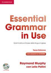ESSENTIAL GRAMMAR IN USE WITH ANSWERS WITH CD-ROM ITALIAN EDITION 3RD EDITION