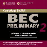 CAMBRIDGE BEC PRELIMINARY 2 AUDIO CD