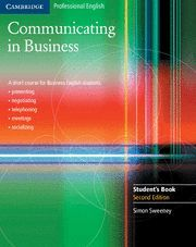 COMMUNICATING IN BUSINESS STUDENT'S BOOK 2ND EDITION