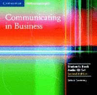 COMMUNICATING IN BUSINESS AUDIO CD SET (2 CDS) 2ND EDITION
