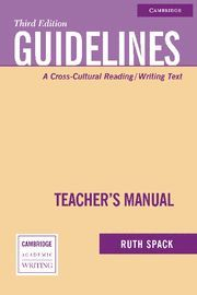 GUIDELINES TEACHER´S MANUAL 3RD EDITION