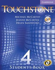 TOUCHSTONE LEVEL 4 STUDENT´S BOOK WITH AUDIO CD/CD-ROM