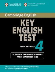 CAMBRIDGE KEY ENGLISH TEST 4 STUDENT´S BOOK WITH ANSWERS