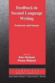 FEEDBACK IN SECOND LANGUAGE WRITING