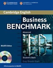 BUSINESS BENCHMARK ADVANCED STUDENT´S BOOK WITH CD ROM BULATS EDITION