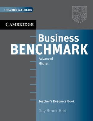 BUSINESS BENCHMARK ADVANCED TEACHER´S RESOURCE BOOK