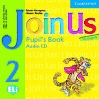 JOIN US FOR ENGLISH 2 PUPIL´S BOOK AUDIO CD