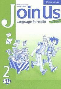 JOIN US FOR ENGLISH 2 LANGUAGE PORTFOLIO