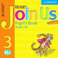 JOIN US FOR ENGLISH 3 PUPIL´S BOOK AUDIO CD