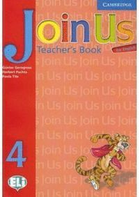JOIN US FOR ENGLISH 4 TEACHER´S BOOK