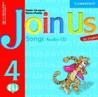 JOIN US FOR ENGLISH 4 SONGS AUDIO CD