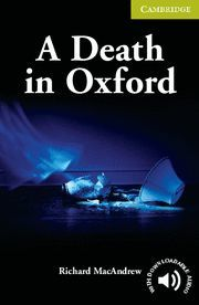 A DEATH IN OXFORD STARTER/BEGINNER