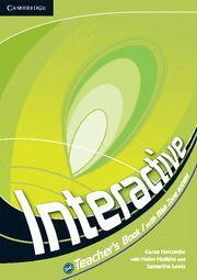 INTERACTIVE LEVEL 1 TEACHER´S BOOK WITH WEB ZONE ACCESS