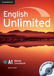 ENGLISH UNLIMITED STARTER COURSEBOOK WITH E-PORTFOLIO