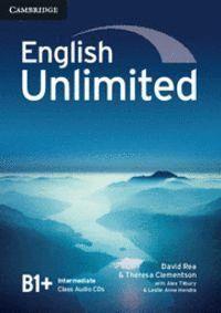 ENGLISH UNLIMITED INTERMEDIATE CLASS AUDIO CDS (3)