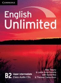 ENGLISH UNLIMITED UPPER INTERMEDIATE CLASS AUDIO CDS (3)