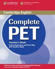 COMPLETE PET TEACHER'S BOOK